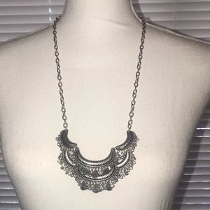 Premier Designs Silver  Necklace